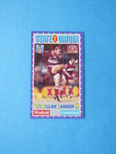 Allan Langer Single Modern (1970-Now) NRL & Rugby League Trading Cards