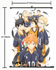 Anime Haikyuu Haikyuu!!  Wall Poster Scroll Home Decor Cosplay 1765