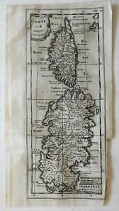 Corsica & Sardinia Ancient World Mediterannean Islands 1697 Cluverius map