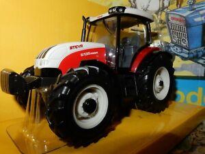 Britains Farm Steyr 6135 Profi Tractor Die-cast Model 40804 Brand New 1/32 Scale