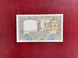 France Billet 20 Francs Science Et Travail  11.06.1941  Alph R.4305