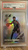 2019-20 Panini Donruss Optic Kyrie Irving Silver Holo Prizm PSA 10 Gem Mint