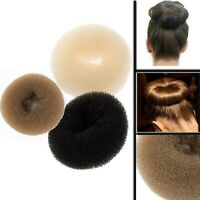Hair Bun Donut Maker Doughnut Ring Shaper Styler Up Magic Roll Foam Mesh Sponge