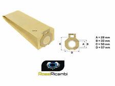 IMETEC - SACCHETTI CARTA SCOPA ELETTRICA PIUMA 800W - 900W ELECTRONIC-1200W-5 PZ