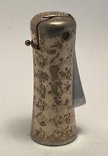 Vintage Ronson White Metal Lighter