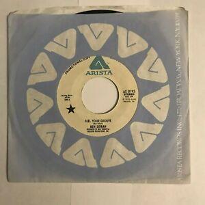 """Ben Sidran - """"Feel Your Groove""""  (U.S) 7"""" Promo (1976) AS 0195 (Arista)  /  SIN8"""