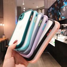 Para iPhone SE 2020 11 Pro Max XS X XR 8 7 6s 6 Funda Delgada de Acrílico Suave