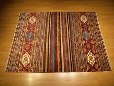 6 x 8 High Quality Handmade Veggie Dye Fine Wool Afghan Caucasian Shiravan Rug