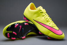 NIKE MERCURIAL FG FOOTBALL BOOTS UK 6 EUR 39 US 6.5 VOLT YELLOW VAPOR SUPERFLY