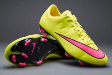 Nike MERCURIAL FG Scarpe Da Calcio UK 6 EUR 39 US 6.5 V Yellow Vapor Superfly