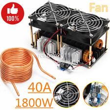 1800W ZVS Induction Heating Board Module Flyback Driver Heater+Tesla coil+Fan DE