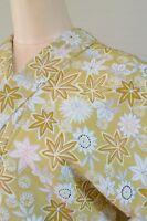 Kimono Komon Chemical fiber Women Japanese Geisha Costume Robe /440