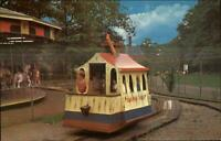Cleveland Zoo Toonerville Trolley Carousel Merry-Go-Round Postcard