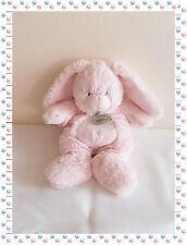 L - Doudou Peluche Lapin Rose Tout Doux Baby Nat