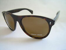 7051e670857f GIORGIO ARMANI SUNGLASSES GA 948 086 I2 HAVANA BROWN POLARISED BNWT GENUINE