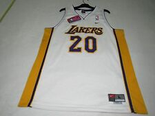 NWT VINTAGE MENS NIKE GARY PAYTON LOS ANGELES LA LAKERS BASKETBALL JERSEY L +2