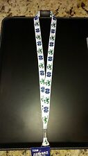 "NOTRE DAME FIGHTING IRISH LANYARD KEY CHAIN 3/4"" WIDTH 20"" LENGTH BLOWOUT PRICE!"
