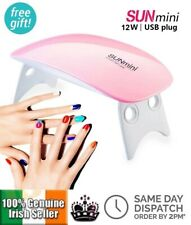 12W Nail Dryer Pocket Size Drier LED UV Lamp Compact Curing Nails USB Gel Polish
