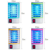 Indoor LED Electric Mosquito Fly Lamp Night Killer Zapper Trap Insect Bug New