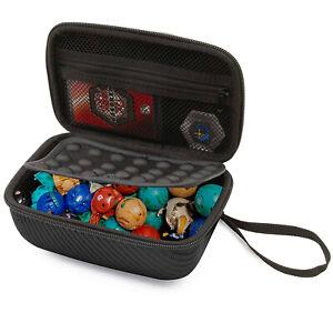 CM Travel Case for Bakugan Figures, BakuCores - Bakugan Toy Case Only - Black