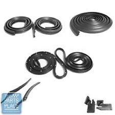 1968 Impala / Bonneville Weatherstrip Seal Kit - 9 Pieces @