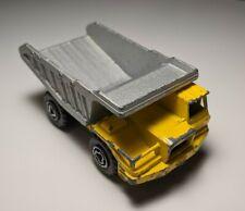 Vintage Majorette #274 Benne Carriere Construction Dump Truck 1/100 Diecast