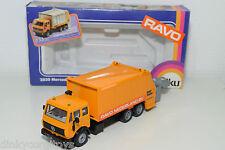Siku 2926 MERCEDES BENZ RAVO Nederland Mull carrello REFUSE TRUCK MINT BOXED RARO