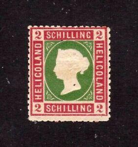 Heligoland stamp #3, MHOG, nice!