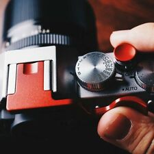 for Fujifilm XT3 X-T3 XT1 X-T2 XT10 X-T20 Camera Metal Thumb-up Grip, Red Color