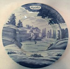 Delft Holland MMA Metropolitan Museum of Art 1st ed Months of Year Plate August