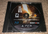 The Last of Us - PS3 (Sony PlayStation 3) Tested - Works. Disc Only.
