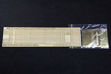 Artwox 1/700 IJN Aircraft Carrier Kaga Wooden Deck Set w/PE for Fujimi 430300