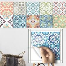 Retro Wall Sticker Waterproof Self Adhesive Tiles Bathroom Kitchen Home Decor