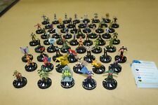Marvel Heroclix Nick Fury Agent of SHIELD NFAOS Complete CUR with A/B Variants