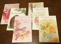 48 Vintage Fantusy Greeting Cards Sympathy Birthday Get Well Anniversary Thanks