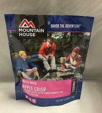 Mountain House Apple Crisp 3-Serving Dessert Freeze Dried Camping Food