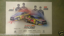 2014 RED BULL RACING BATHURST POSTER V8 Supercars CRAIG LOWNDES WHINCUP RICHARDS