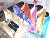 Men's Chaps Authentic Washed Dress Shirt Size  M - L - X - 2 X