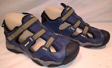 boys blue yellow Teva K Manatee wet dry sports beach water sandal uk 2 eur 35