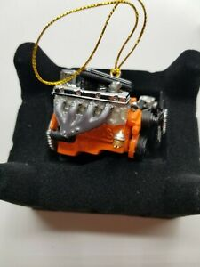 Chevy 427 Big Block Engine Limited Edition Resin Ornament 1/18 Scale Chevrolet