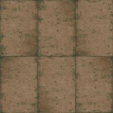 Rasch Textil Greenhouse Papel pintado 138881 Azulejos marrón oscuro fieltro