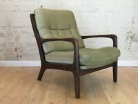 toller Mid Century 60er Jahre Stuhl Cocktail Sessel Easy Chair 60s Vintage alt