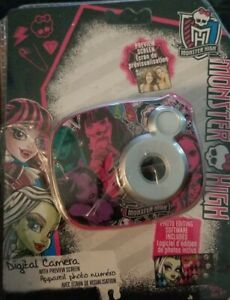 Monster High Digital Camera With Preview Screen New Open Package