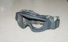 Oakley ESS ARMY SAND WIND DUST Ballistic GOGGLES Foliage Clear Lens