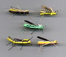 Trout Flies: Bigger - Bigger Foam Flies x 5  size 6 & 8 assorted. (code 452)