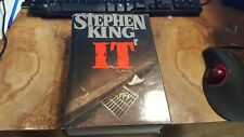 It by Stephen King (1986) 6th Printing Hardcover Novel