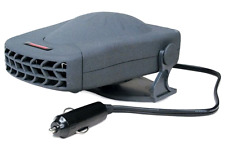 12V All Season Black Heater and Fan with Adjustable Swivel Base Road Pro Travel