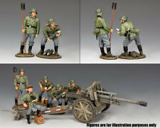 KING & COUNTRY WW2 GERMAN ARMY WH064 GUN CREW #1 MIB
