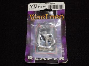 Warlord Reaper AD&D Metal Miniatures - Arik Tallazar Merc Heros