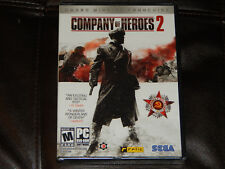 New! Company of Heroes 2 Windows PC Free Shipping Steam Strategy Multiplayer DVD